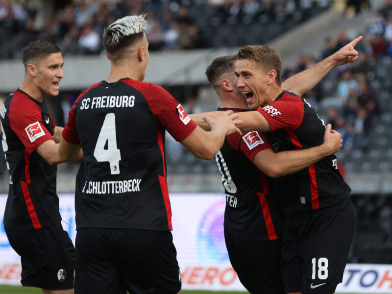 Freiburg es el único equipo que aún no ha perdido en lo que llevamos de Bundesliga:. Foto: Getty Images