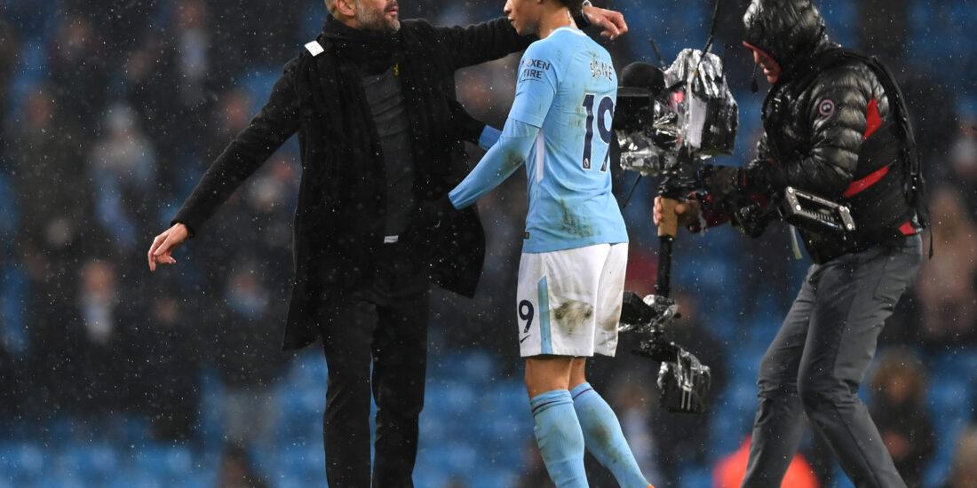 Ya en Múnich, Sané todavía le agradece a Guardiola por todo lo aprendido. Foto: Getty Images