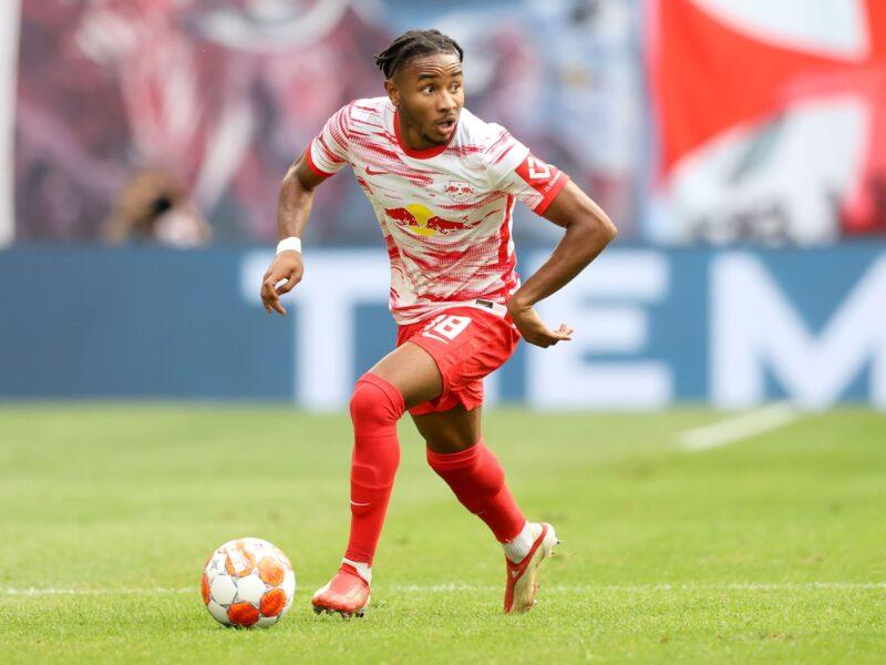 Nkunku, en su mejor momento con RB Leipzig. Foto: Getty Images