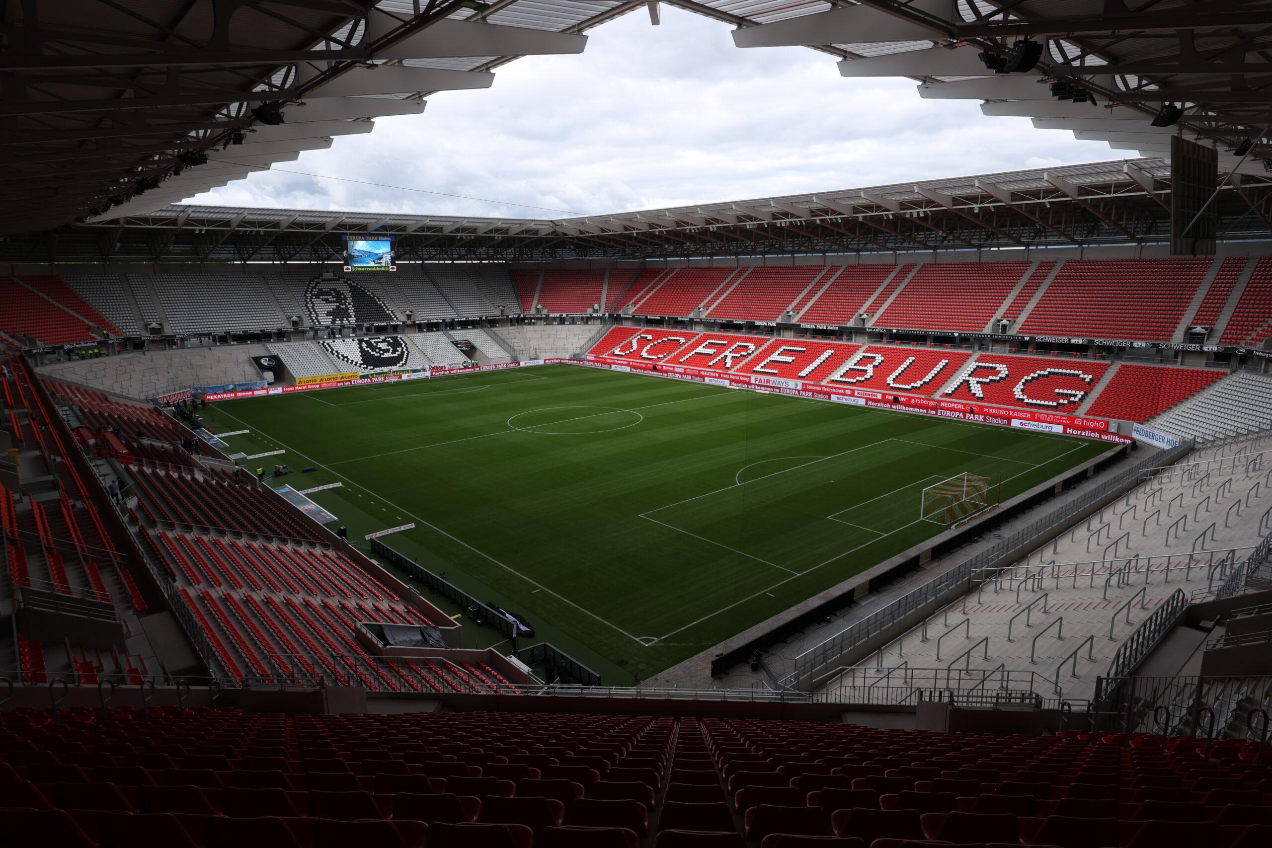 Freiburg estrena su estadio tras varios problemas en la previa. Foto: Imago.