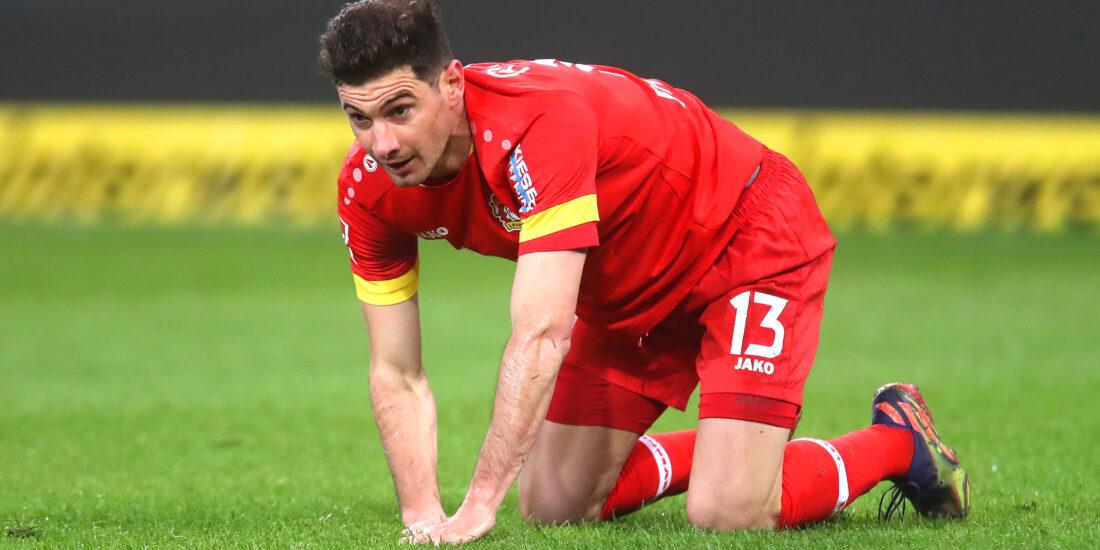 Lucas Alario no podría suplir a Schick por molestias musculares. Foto: Getty Images.