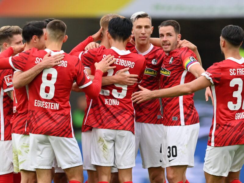 SC Freiburg marcha tercero e invicto. Foto: Getty Images.